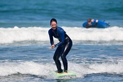 One on One Surf Lesson at Piha Beach, Auckland