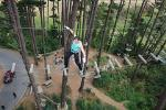 Adrenaline Forest Obstacle Course in Christchurch