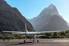 Scenic Flight Transfer to Queenstown from Milford Sound