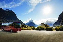Milford Sound Coach & Nature Cruise with Buffet Lunch from Te Anau