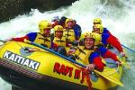 White Water Rafting with Optional Adventure Packages Tauranga Shore Excursion to Rotorua